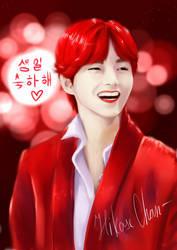 Kim Taehyung (V) by Hikase555