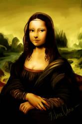 Mona Lisa (redraw) by Hikase555