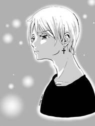 Manga boy by Hikase555