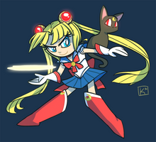Sailor Moon by Radioactive-K