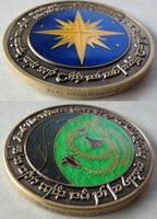 Elfish Tengwar Coin 3 by ce-e-vel