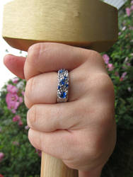Women's Dwarf Ring and Hammer by ce-e-vel