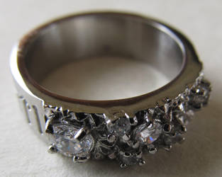 Women's Dwarf Ring with Senja Chalicite by ce-e-vel