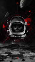 Dead Astronaut by bastienald