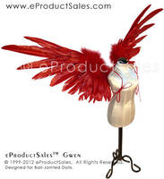 Red Robin GWEN BJD Wings EPS by eProductSales