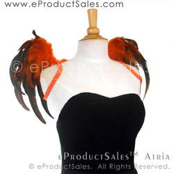 eProductSales Atria Black and Orange Halloween Art by eProductSales