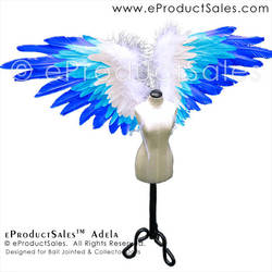 eProductSales Adela Blue White Ombre BJD Accessory by eProductSales