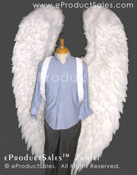 eProductSales Zuriel White Archangel Wings Props by eProductSales