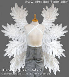 eProductSales Adrial White Archangel Wings Props by eProductSales