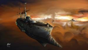 Veteran Flagship, Furious by AoiWaffle0608