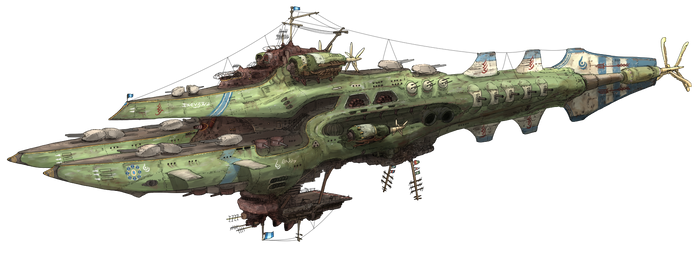 8th Fleet Flagship Zidlant by AoiWaffle0608