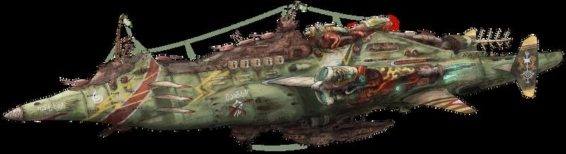 4th fleet Battlecruiser Jickas by AoiWaffle0608