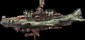 3rd fleet flagship heavy bombketch Noigelie by AoiWaffle0608