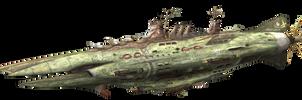 1st fleet Flagship Kumbhakarna by AoiWaffle0608