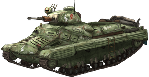 Rach Sancia Fighting Vehicle by AoiWaffle0608