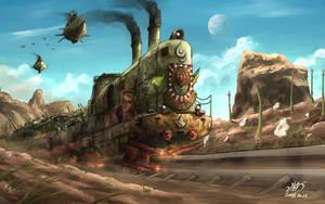 Forward! Canossa Express! by AoiWaffle0608