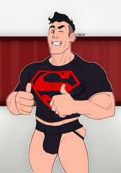 Superboy by AllMaleArt