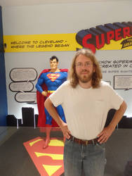 Cleveland Airport: Superman and Me by Scholarly-Cimmerian