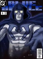 The Blue Beetle Spectre by Eji