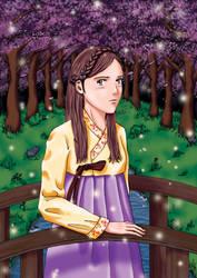 Korean Girl by Momonari-Junta