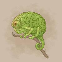 chameleonmind by pixelfish