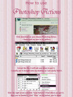How to use a photoshop action by Whimsical-Dreams