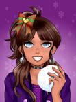 A Christmas Birthday (Sandra's Month) by MollyShine