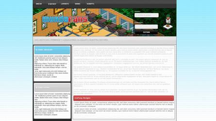 Habbo Layout MundoFans by eseFasy