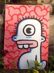 Cyplop Painting by 2Tone-art