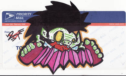 Unfinished collab? or Sticker by 2Tone-art
