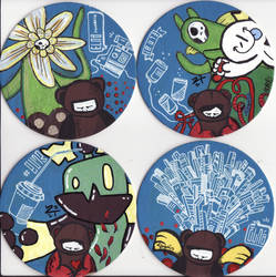 More Crazy Coasters by 2Tone-art