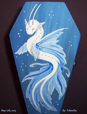 Deep Sea Bio-luminescent Water Dragon by Yohnnilee