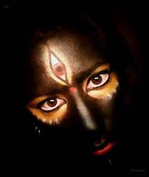 Kali, the Black One by Yohnnilee
