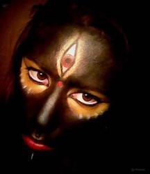 Hindu Goddess Kali by Yohnnilee