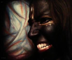 Kali Goddess of War by Yohnnilee