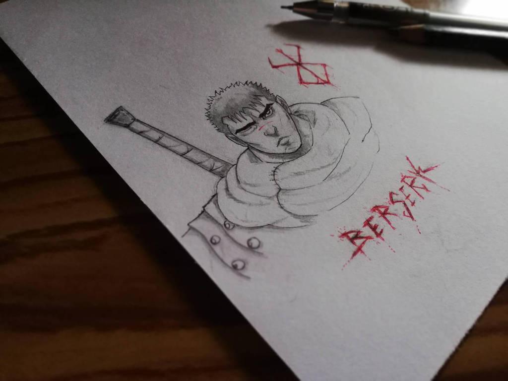 Berserk....10min sketch  by shehan103