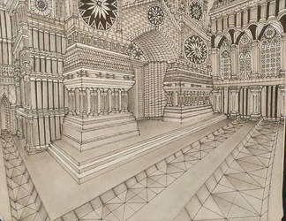 European architecture by ArtistAesthetics