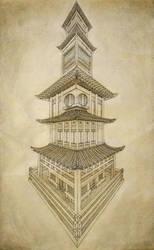 Asian Architecure by ArtistAesthetics