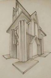 Modern Roman/Gothic Church by ArtistAesthetics