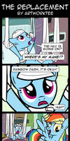 Comic: The Replacement by artwork-tee