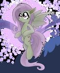 Flutterbat Transparent Background by artwork-tee
