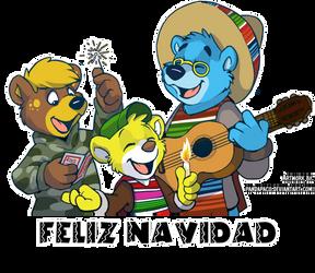 Feliz Navidad by artwork-tee