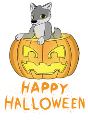 Jack-o-wolf by artwork-tee