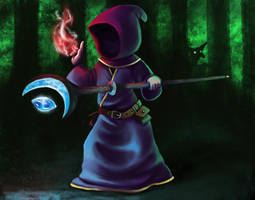 Magicka wizard by Lambda2441