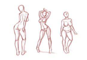 2-28 Sketches by Ecchi-Senshi