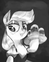 Apfel Pferd by TalonsofIceandFire