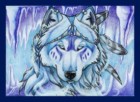 The Ice Wolf by SonicMaster23