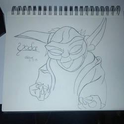 Yoda by Morestal