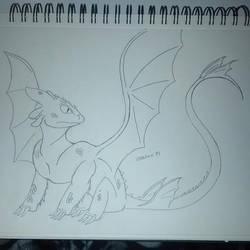 Toothless by Morestal