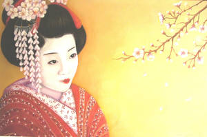 Japanese Girl by JoanneBarby